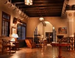 Inside hotel paisano