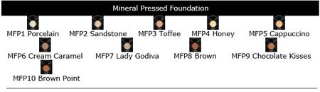 pressed foundation