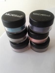 MicaBella Mineral Shimmer Shadows