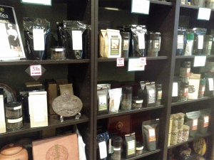 Best selection of healing teas.