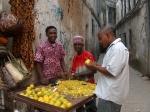 Zanzibar fruit stand