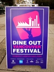 Dine Out Sign