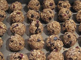 powerball cookies with quinoa