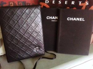 Chanel book holder