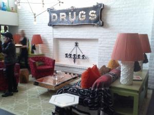 Parker Palm Springs Lobby