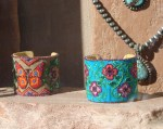 Beautiful Beaded Bangles