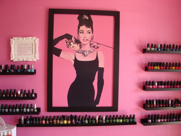 I'm sure Holly golightly would approve.