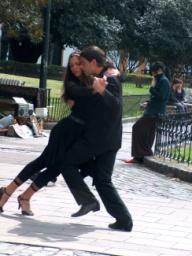 tango in Recoletta