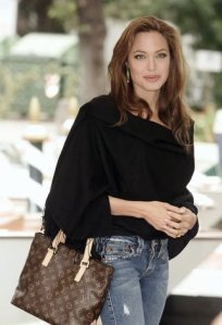 Angelina Jolie for Louis Vuitton Monogram Canvas