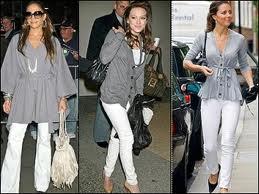 grey clothing