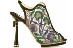 Nicholas Kirkwood floral mesh shoe
