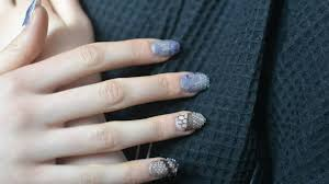 Lace Nails from The Kit.   I'll pass on this one.