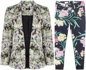 Floral jacket & jeans - check!