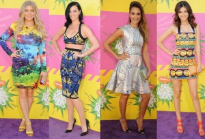 Fergie, Katy Perry, Jessica Alba & Victoria Justice.