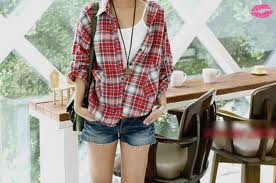 casual summer style plaid. weheartit.com