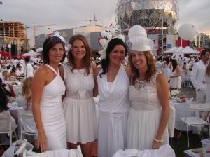 Melissa, Jen, Lisa, Debbie