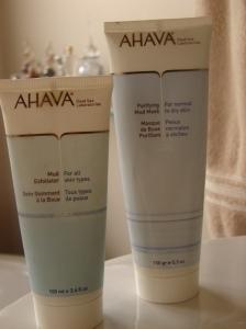 Ahava Dead Sea Scrub and MASK