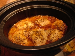in slow cooker