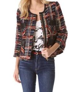 boucle jacket - elle.com