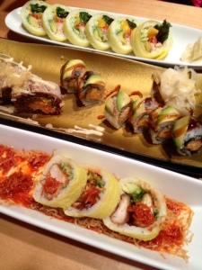 I must recommend Sushi Sen in Squamish for fresh + unique rolls.