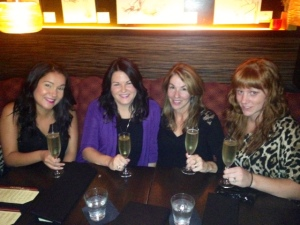 Dee, Lisa, Deb, Tamara