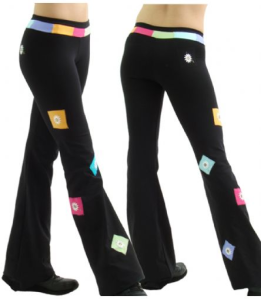 a pant that flatters, Maragarita Active Wear - flatteringly made for movement http://IntrigueImports.com