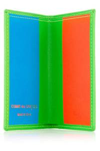 Comme Des Garçons Super Fluor Leather Card Holder, $94; net-a-porter.com