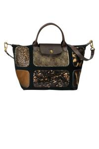 Le Pliage Patch Exotic Handbag, $660; longchamp.com