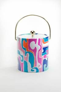 Trina Turk Mirage Ice Bucket, $58; trinaturk.com