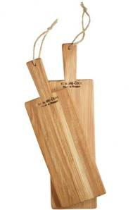 Calypso Mini Serving Board Set, $115; calypsostbarth.com