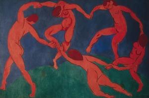 Henri Matisse, Dance (II), 1909; State Hermitage Museum, St. Petersburg