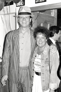Dee with Long John Baldry