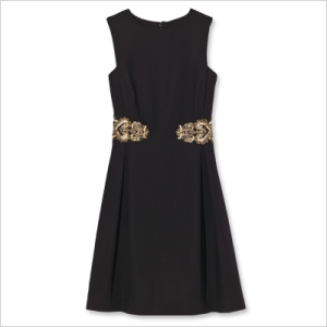 ML Monique Lhuillier Dress - Embellished polyester crêpe, $448; saksfifthavenue.com for stores.