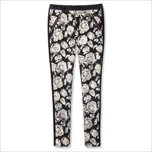 Juicy Couture Pants Polyester-cotton jacquard, $178; juicycouture.com