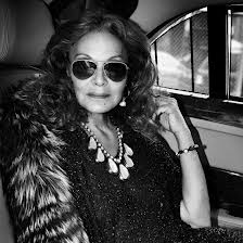 Diane Von Furstenburg. She created the wrap dress eons ago that still goes strong but she is still evolving.
