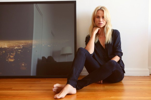 Swedish blogger Elin Kling. Her resume includes Fashion Director of Swedish Magazine STYLEBY and Creative Director of Elin Kling, which has evolved from her own personal blog she started seven years ago to a daily fashion journal. Nowhere is her clothing line.