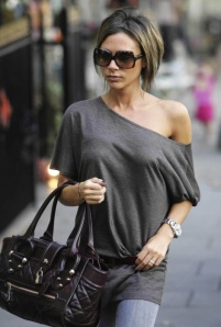 Victoria Beckham. NO matter what you can't deny her total STYLE package!