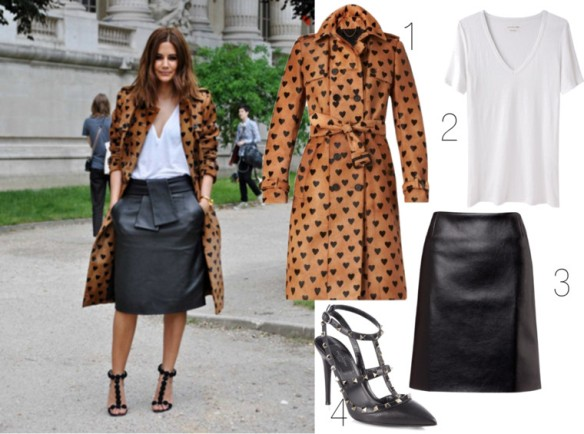 Burberry Hearts - dress it up, dress it down