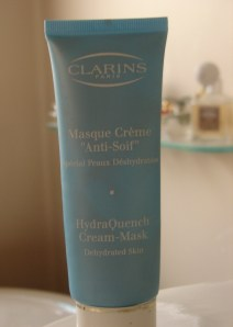 Clarins hydrating mask