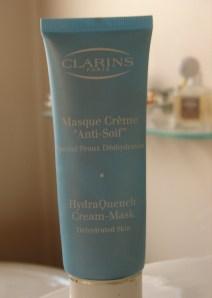 Clarins hydrating mask