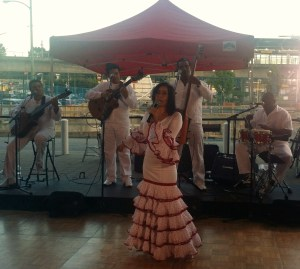Cuban band Brisas Palmar with Flamenco Dancer/Singer