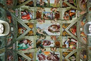 The Sistine Chapel,