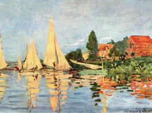 Claude Monet Landscape Painting