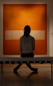 Mark Rothko contemplation