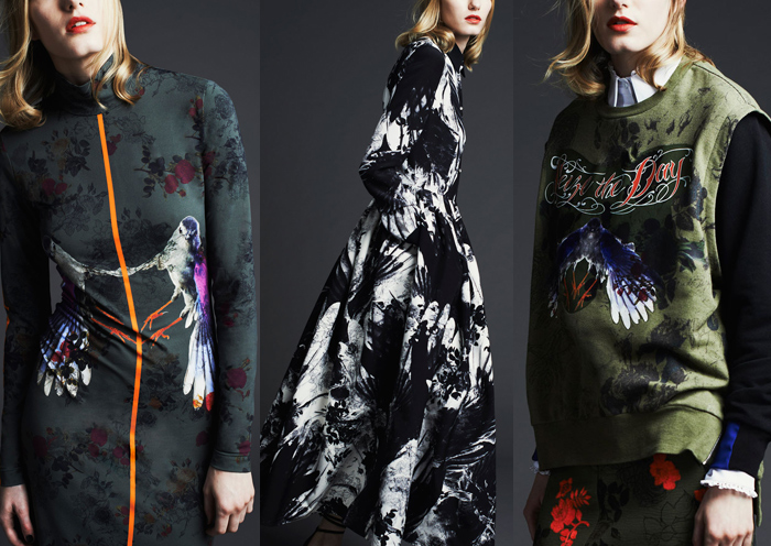 Preen By Thornton Bregazzi - Pre Fall 2014 Preen photos via Style.com