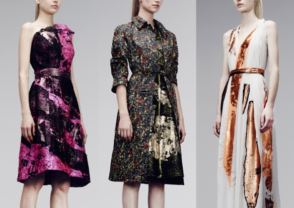 Bottega Veneta – Pre Fall 2014  (dresses)