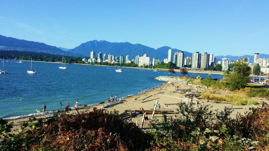 Dog Beach, Kitsilano, Vancouver.