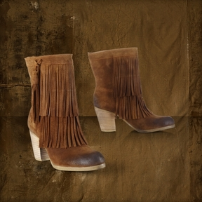 my new distressed looking fringe benefit boots