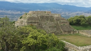 Monte Albán, built by the Zapotecs, is one of the country's most important ruins.