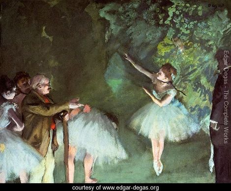 Ballet-Rehearsal, Degas